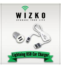 Lightning USB Car Charger