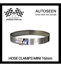 HOSE CLAMPS mini 16mm