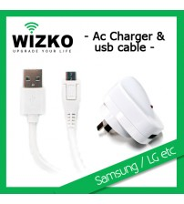 SAMSUNG AC CHARGER CABLE