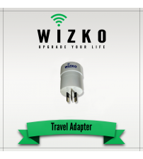 United States 3 Pin Travel Adapter TR-001