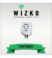 UNITED STATES 3 PIN TRAVEL ADAPTER TR-003