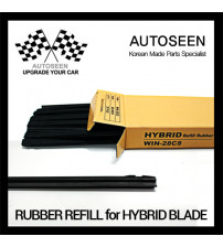 "RUBBER REFILL 28"" FOR WCS BLADE (20pcs)"