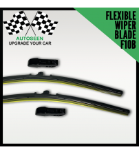 Flexible Wiper Blade with Multi Connector (F10B Connector) All Size