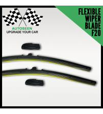 Flexible Wiper Blade with Multi Connector (F20 Connector) All Size