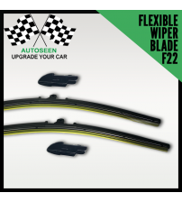 Flexible Wiper Blade with Multi Connector (F22 Connector)
