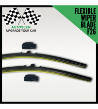 Flexible Wiper Blade With Multi Connector (F26 Connector)