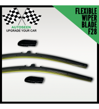 Flexible Wiper Blade with Multi Connector (F28 Connector)