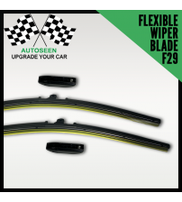 Flexible Wiper Blade with Multi Connector (F29 Connector)