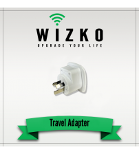 UNITED STATES 3 PIN TRAVEL ADAPTER TR-002