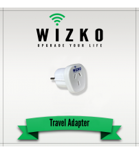 UNITED STATES 3 PIN TRAVEL ADAPTER TR-006