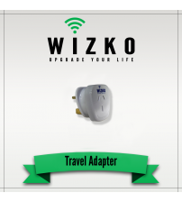 UNITED STATES 3 PIN TRAVEL ADAPTER TR-007