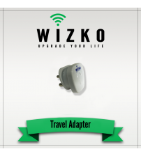 UNITED STATES 3 PIN TRAVEL ADAPTER TR-008